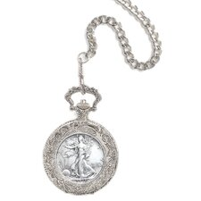 Walking Liberty Half Dollar Pocket Watch