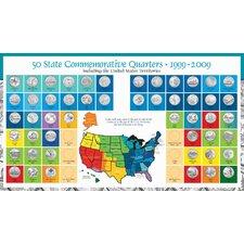 Complete Statehood Quarter Coin Set