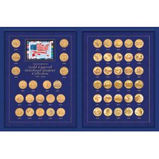 The Complete Statehood Quarter 1999 - 2008 Coin Set