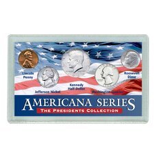 Americana Presidents Coin Display Case