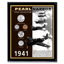 Pearl Harbor Coin Wall Framed Memorabilia