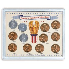 Patriotic Pennies Display Case