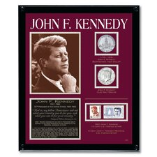 Kennedy Tribute Coin Wall Framed Memorabilia