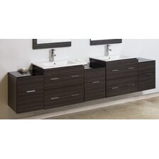 "90"" Wall Mount Vanity Base"