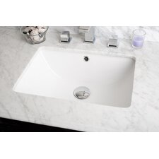 Rectangular Undermount Bathroom Sink