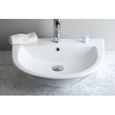 Single Hole Vessel Bathroom Sink
