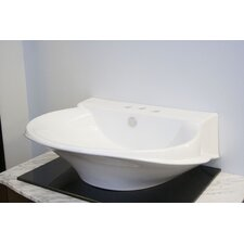 Victorian Ceramic Vessel Bathroom Sink