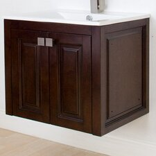 "Flair 32"" American Birch Wall Hung Vanity Set"