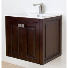 "Flair 24"" American Birch Wall Hung Vanity Set"
