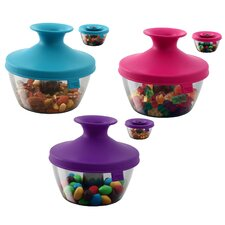 PopSome Candy and Nut Dispenser (Set of 6)