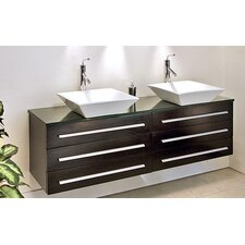 "Catania  59.25"" Bathroom Vanity Set"