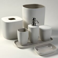 Modern Ceramic Bath Accessory Set