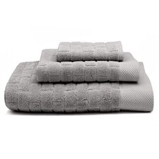 3 Piece Subway Tile Bath Towel Set