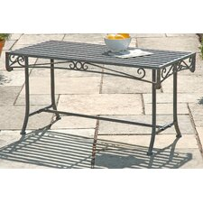 Versailles Rectangular Steel Coffee Table