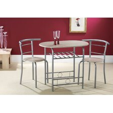 Compact 3 Piece Dining Set