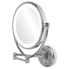 Dual Side Lighted Wall Mirror