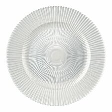 """13"""" Marbella Glass Charger Plate"""