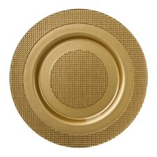 """13"""" Lido  Glass Charger Plate"""