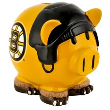 NHL Large Piggy Bank Figurine