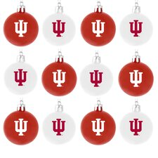 NCAA Plastic Ball Ornament (Set of 12)