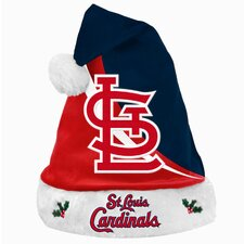 MLB Swoop Logo Santa Hat