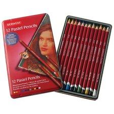 Pastel 12 Piece Colored Pencil Set