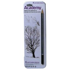 Academy Sketching Pencil (Set of 6)