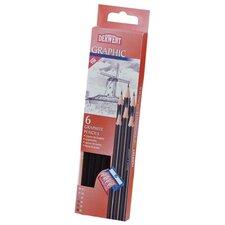 Pencil Tin (Set of 6)
