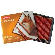 Drawing Pencil Color Tin (Set of 24)