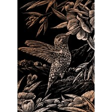 Hummingbird Art Engraving