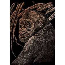 Ape Art Engraving