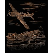 Fighter Art Engraving