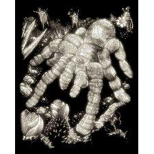 Glow Tarantula Art Engraving