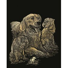 Retriever Art Engraving