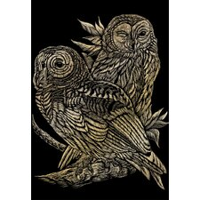 Art Engraving Owls Art Engraving