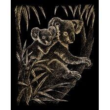 Koala Bears Art Engraving