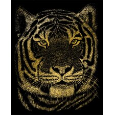 Bengal Tiger Art Engraving