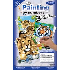 Painting by Numbers Cat Junior Value (Set of 3)