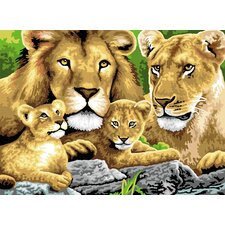 Painting by Numbers Junior Large Pride Of Lion Set