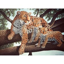 Painting by Numbers Junior Large Leopard and Cubs Set