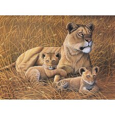 Painting by Numbers Junior Large Lioness and Cubs Set