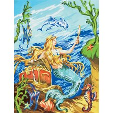 Painting by Numbers Small Mermaid Junior Set