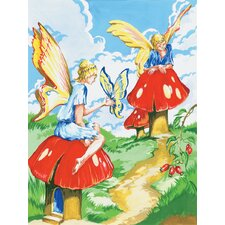 Painting by Numbers Small Flower Fairy Junior  Set