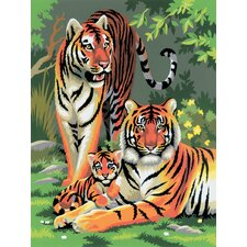 Painting by Numbers Small Tigers Junior Set