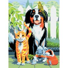 Painting by Numbers Small Family Pets Junior Set