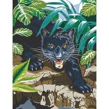 Painting by Numbers Junior Small Black Leopard Set