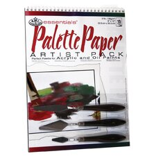 Artist Pack Paper and Media Palette