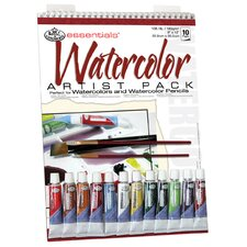 Essentials Artist Pack Paper and Media Watercolor Tube
