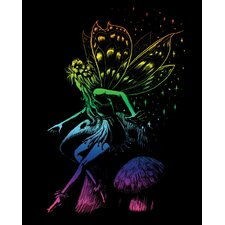 Rainbow Fairy Princess Art Engraving