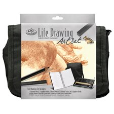 Life Drawing Satchel Art Set